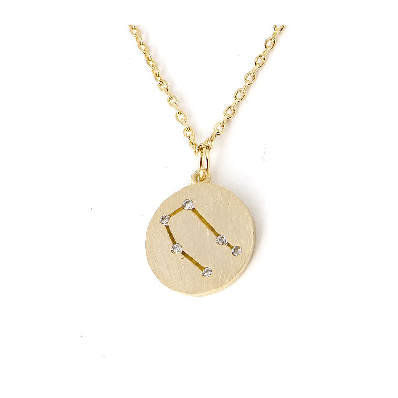 Zodiac Disk Necklace - Jewelry Buzz Box  - 8