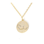 Zodiac Disk Necklace - Jewelry Buzz Box  - 9