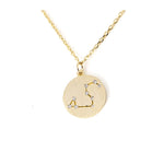 Zodiac Disk Necklace - Jewelry Buzz Box  - 1