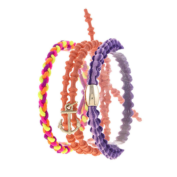 Anchor Hairtie Bracelet - Jewelry Buzz Box