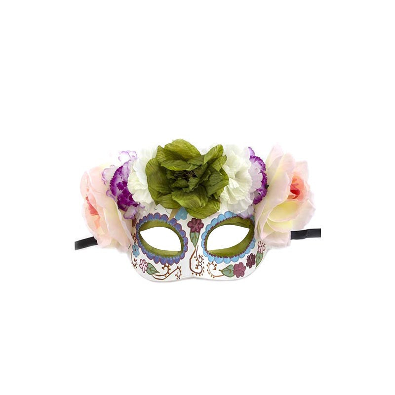 Day Of The Dead Mask - Jewelry Buzz Box  - 1