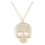 Pave Skull Necklace - Jewelry Buzz Box  - 1