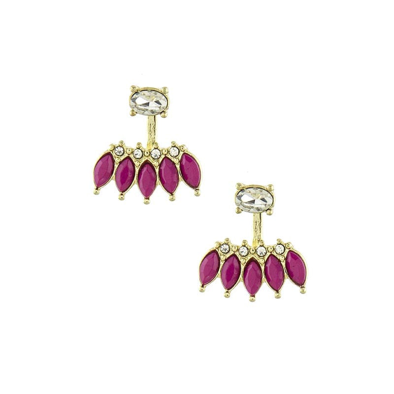 Craze Earrings - Jewelry Buzz Box  - 1