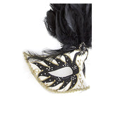 Fancy Feather Mask - Jewelry Buzz Box  - 11