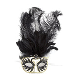 Fancy Feather Mask - Jewelry Buzz Box  - 1