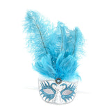 Fancy Feather Mask - Jewelry Buzz Box  - 3