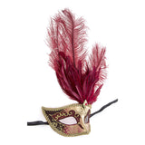 Fancy Feather Mask - Jewelry Buzz Box  - 10