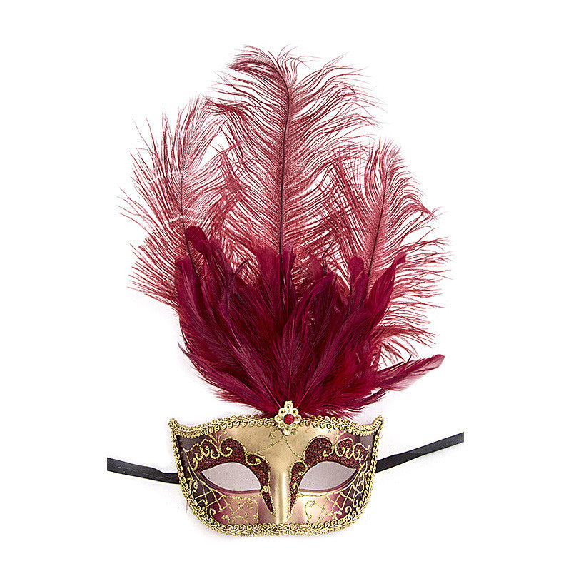 Fancy Feather Mask - Jewelry Buzz Box  - 4