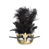 Fancy Feather Mask - Jewelry Buzz Box  - 7