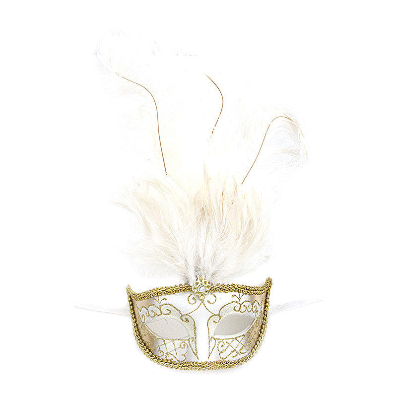 Fancy Feather Mask - Jewelry Buzz Box  - 8
