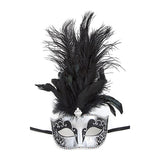 Fancy Feather Mask - Jewelry Buzz Box  - 6