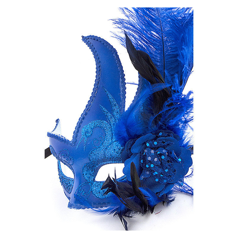 Feather Ball Mask - Jewelry Buzz Box  - 8