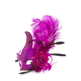 Feather Ball Mask - Jewelry Buzz Box  - 2