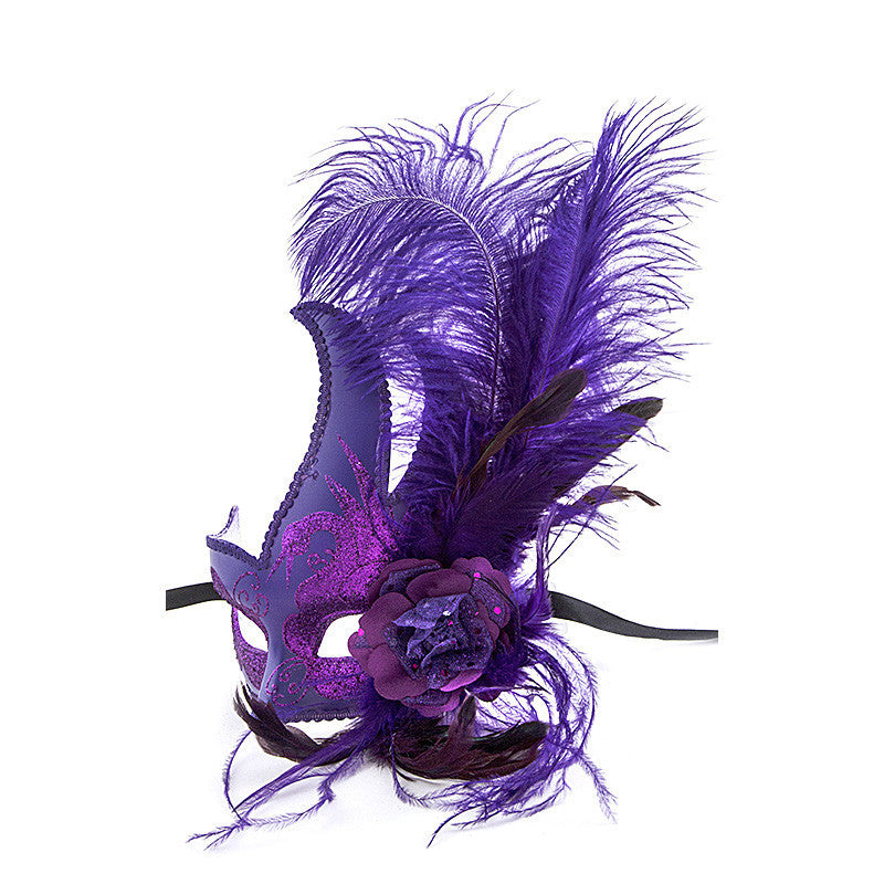 Feather Ball Mask - Jewelry Buzz Box  - 3