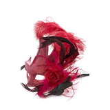 Feather Ball Mask - Jewelry Buzz Box  - 6