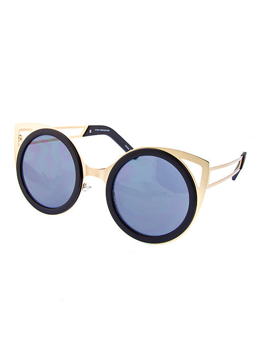 Cat Eye Cut Out Shades - Jewelry Buzz Box  - 3