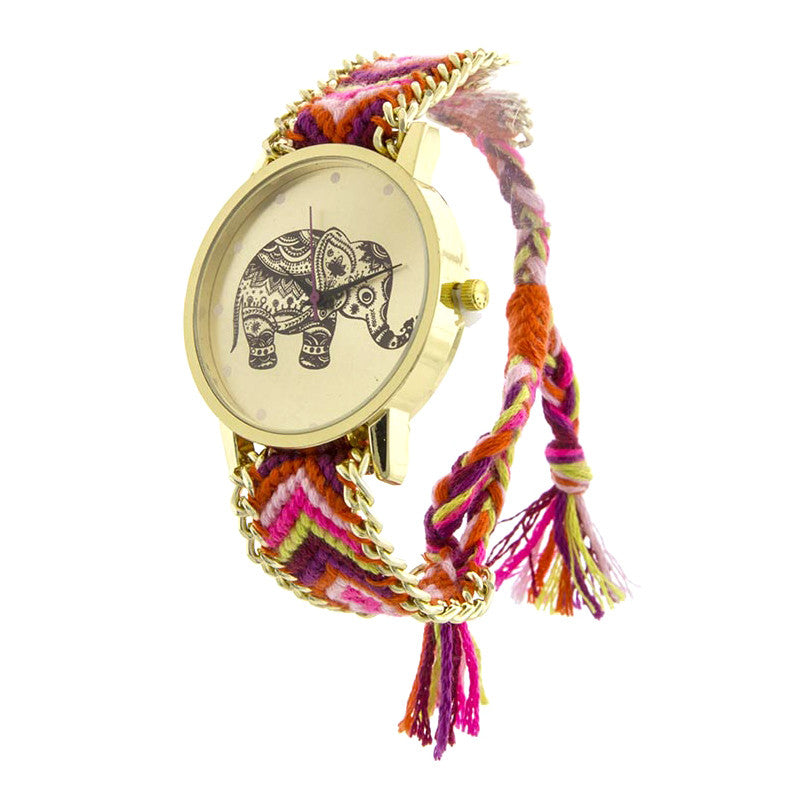 Festive Lucky Elephant Watch - Jewelry Buzz Box  - 3