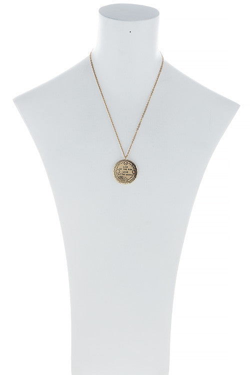 Live By The Sun Necklace - Jewelry Buzz Box  - 3