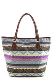 Dazzling Aztec Tote Bag - Jewelry Buzz Box  - 4