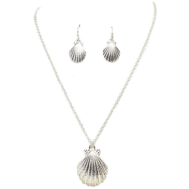 Shore Shell Necklace Set - Jewelry Buzz Box  - 1