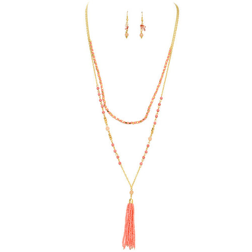 Double Up Necklace Set - Jewelry Buzz Box  - 2