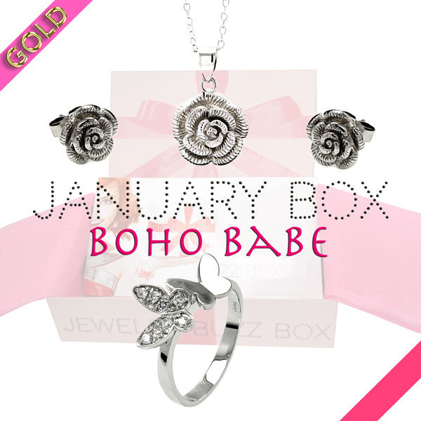 January Boho Gold Box - Jewelry Buzz Box  - 1