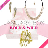 January Bold & Wild Bronze Box - Jewelry Buzz Box  - 1