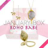 January Boho Bronze Box - Jewelry Buzz Box  - 1