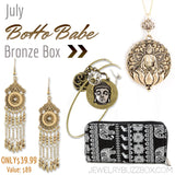 July Boho Bronze Box - Jewelry Buzz Box  - 1