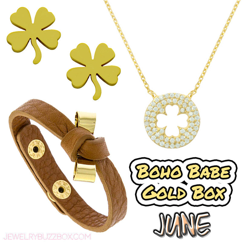 June Boho Babe Gold Box - Jewelry Buzz Box  - 1