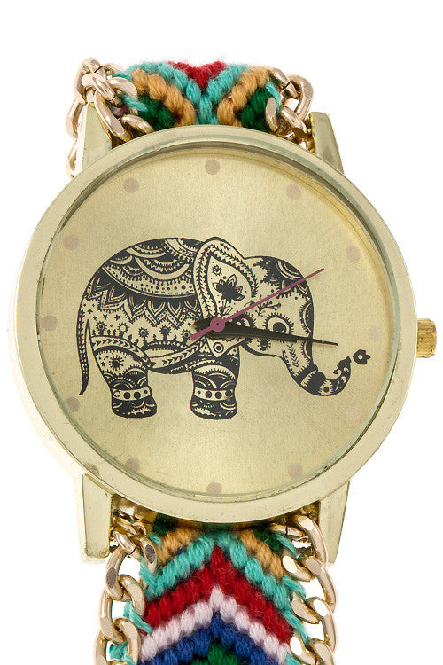 Festive Lucky Elephant Watch - Jewelry Buzz Box  - 12