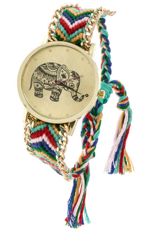 Festive Lucky Elephant Watch - Jewelry Buzz Box  - 5