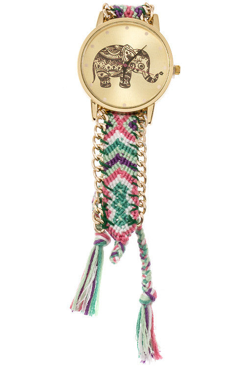 Festive Lucky Elephant Watch - Jewelry Buzz Box  - 8