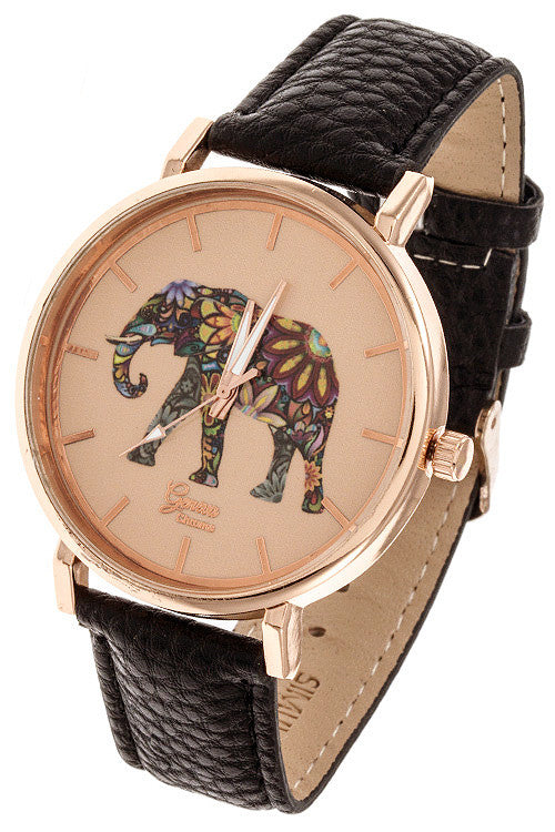 Psychedelic Elephant Watch - Jewelry Buzz Box  - 1