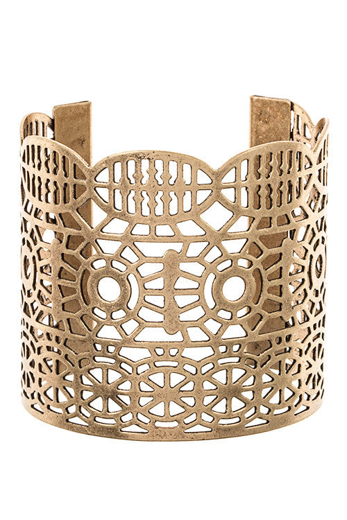 Cut-Out Cuff - Jewelry Buzz Box  - 1