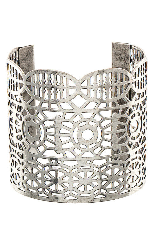 Cut-Out Cuff - Jewelry Buzz Box  - 2