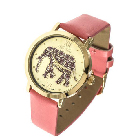 Elephant Bracelet Wrap Watch