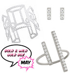 May Bold & Wild Gold Box - Jewelry Buzz Box  - 1
