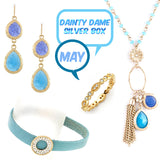 May Dainty Dame Silver Box - Jewelry Buzz Box  - 1