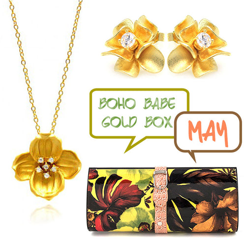 May Boho Babe Gold Box - Jewelry Buzz Box  - 1