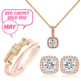 May Red Carpet Gold Box - Jewelry Buzz Box  - 1
