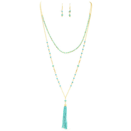 Double Up Necklace Set - Jewelry Buzz Box  - 1
