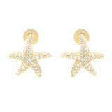 Starfish Stud Earrings - Jewelry Buzz Box  - 2