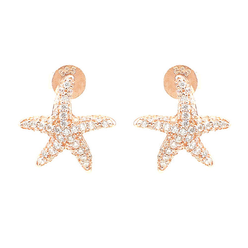 Starfish Stud Earrings - Jewelry Buzz Box  - 1