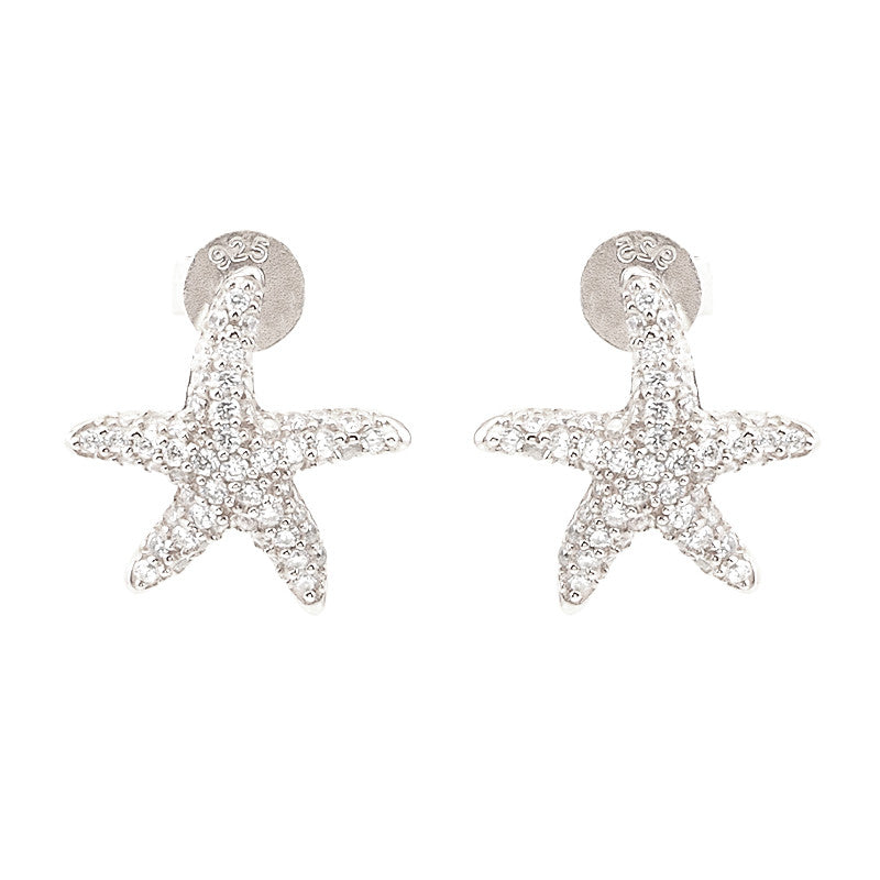 Starfish Stud Earrings - Jewelry Buzz Box  - 3