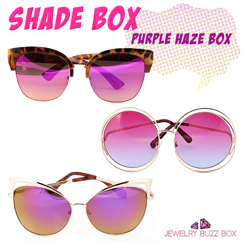 Purple Haze Shade Box - Jewelry Buzz Box  - 1