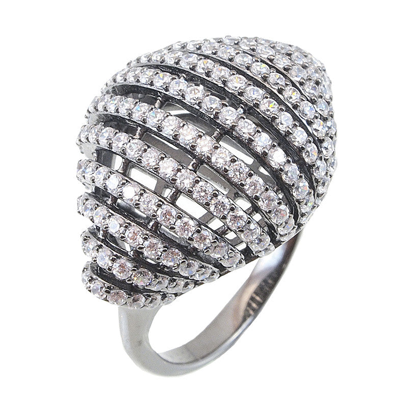 Croissant Ring - Jewelry Buzz Box  - 1