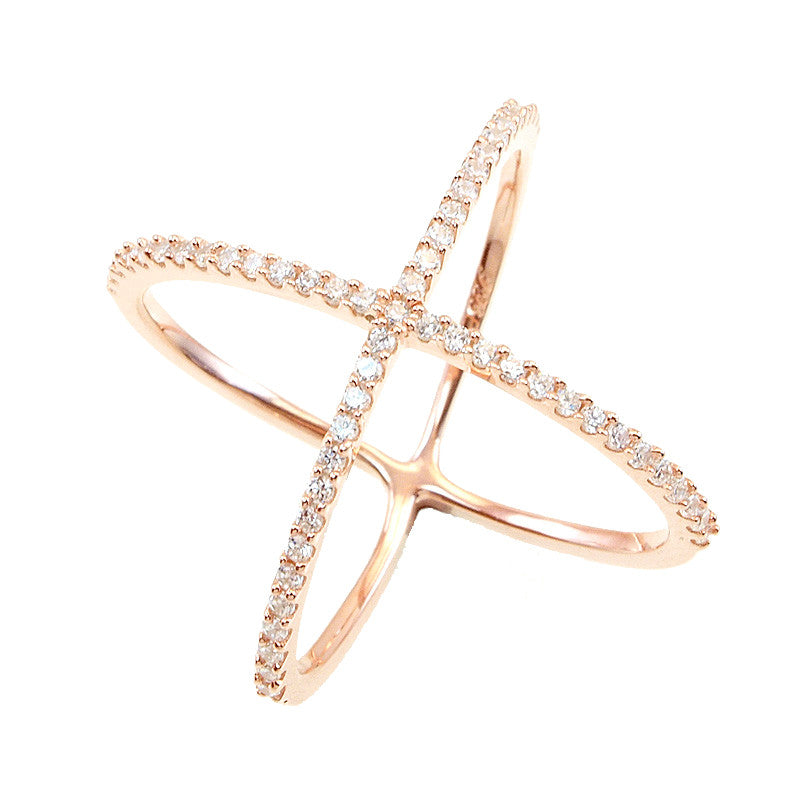 X Marks The Spot Ring - Jewelry Buzz Box  - 1