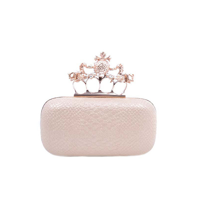 Skull Queen Clutch - Jewelry Buzz Box  - 3