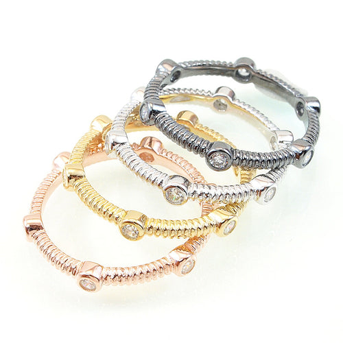 Twist Stack Band - Jewelry Buzz Box
